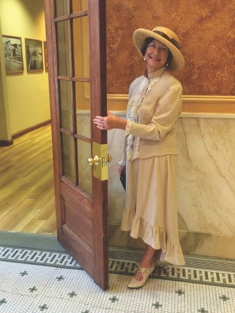 Lead, SD: Our Storyteller Christine will take you through the building!