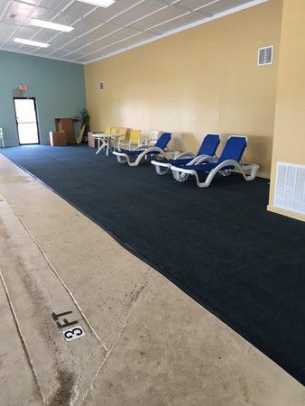 Tucumcari, Nouveau-Mexique : Comfy lounge chairs.