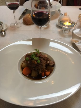Limeray, France: Braised veal