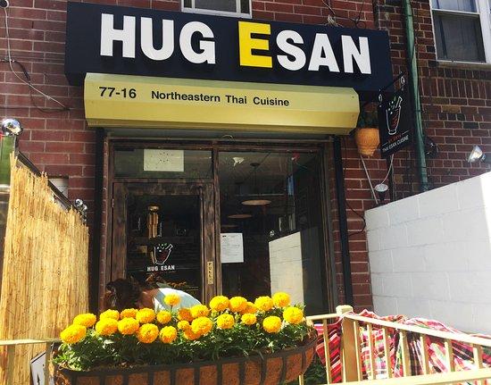 Elmhurst, NY: Hug Esan NYC