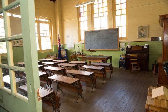 Deniliquin, Australia: Wait until you see the old schoolroom!