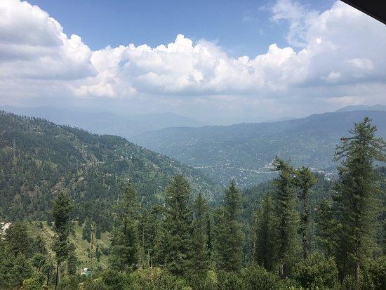 Giriganga Resort (HPTDC): View from balcony