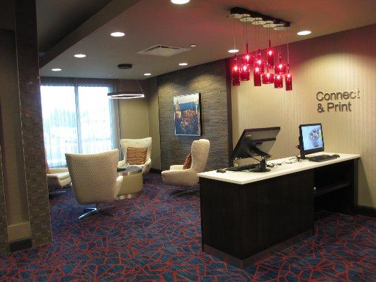 Алтуна, Пенсильвания: Portion of lobby area
