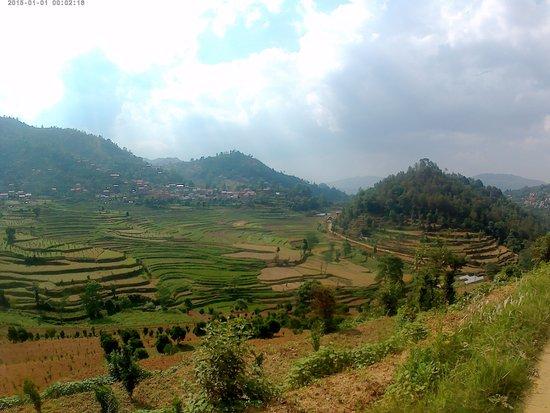 Balthali, Nepal: Vue à 1 minutes de marche