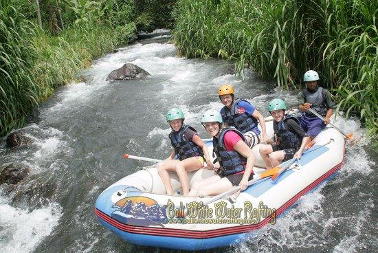 Bali White Water Rafting