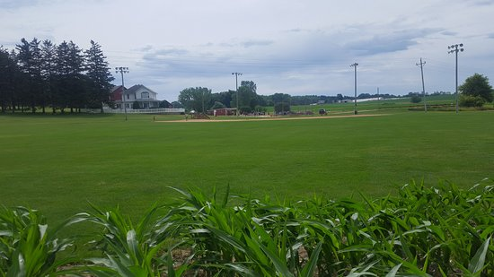 Dyersville, IA: Taken from the cornfield