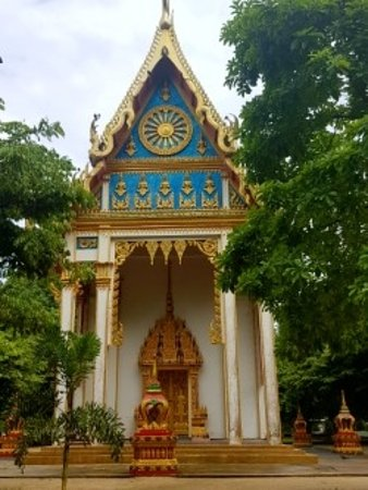 Takua Thung District, Thailand: the temple outside the cave