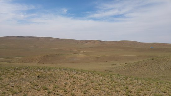 Ulaan Chab, China: Grassland view