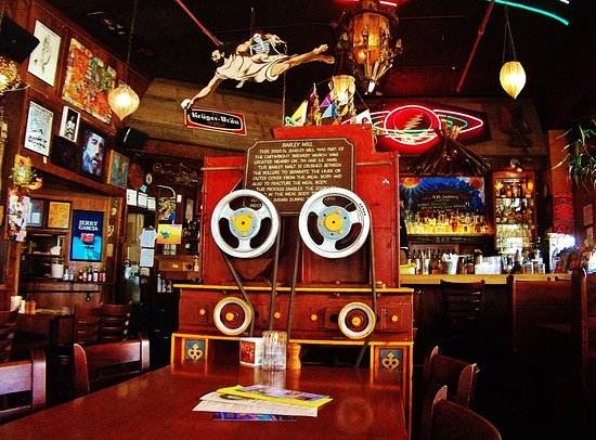 Barley Mill Pub: where I sat in the room