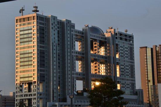 Odaiba: архитектура