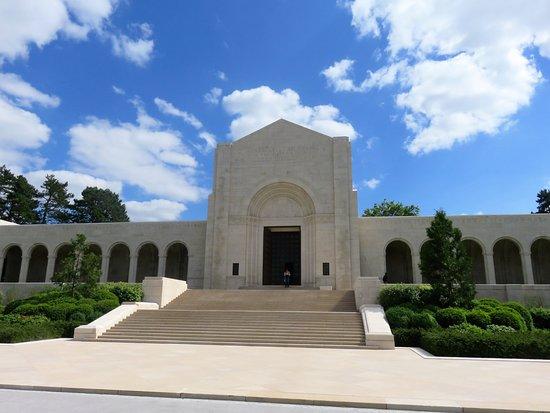 Cimetière américain : Begraafplaats