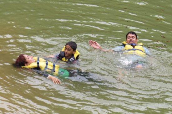 Sai Vishram Byndoor: Pond