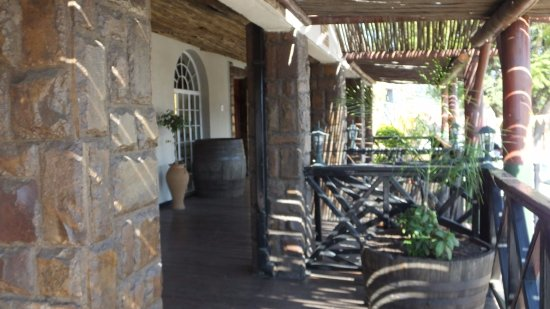 Sabie, South Africa: Reception/ Entrance
