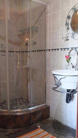 Sabie, Afrika Selatan: Elephant Room Bathroom