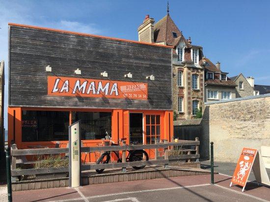Saint-Aubin-Sur-Mer, Франция: La seule terrasse plein sud