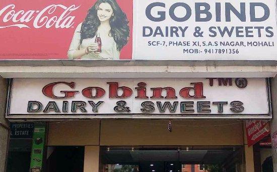 Mohali, India: Gobind sweets