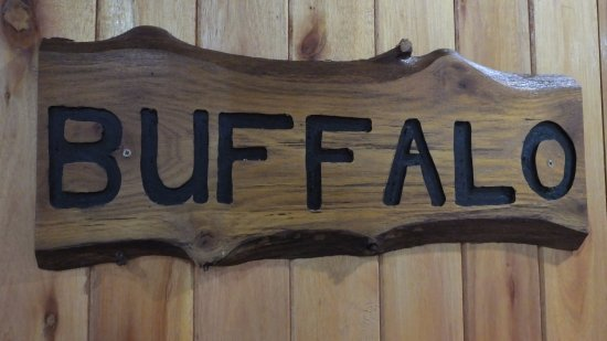 Sabie, South Africa: Buffalo Room Door