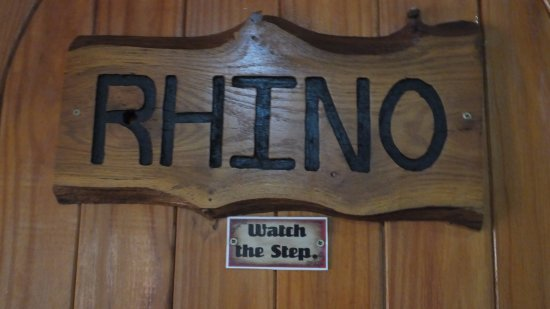 Sabie, جنوب أفريقيا: Rhino Room Door
