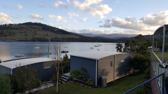 Port Huon, Australia: view 1 from deck