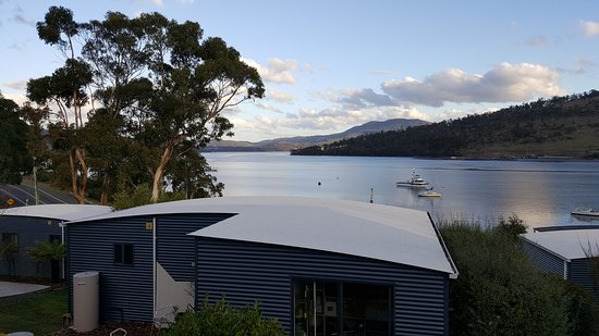Port Huon, Australia: View 2 from deck