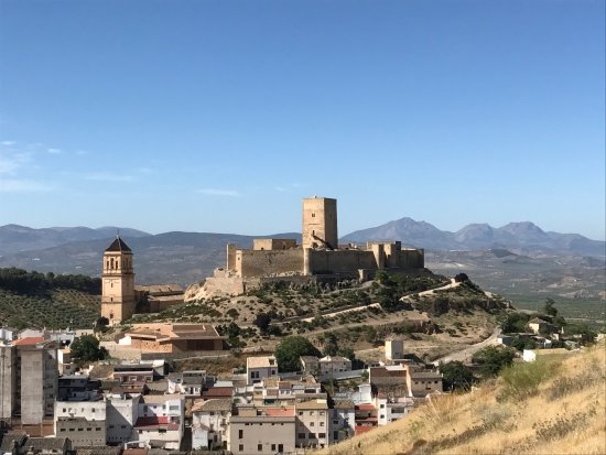 Alcaudete, Spain: Aus den Olivenhainen