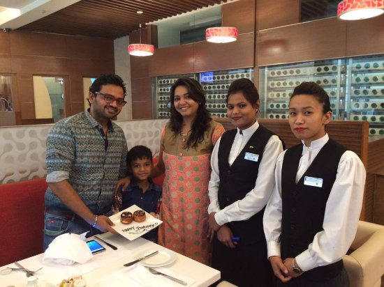 """Radisson Blu Greater Noida: """"Happy Journey"""" wished by complete staff on exit."""