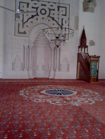 Isa Bey Mosque : Вид внутри