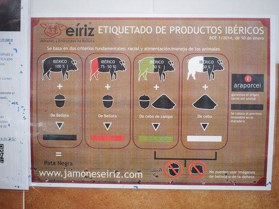 Jamones Eiriz Jabugo: very good piece of knowledge