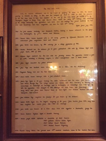 History of Red Lion in Crick