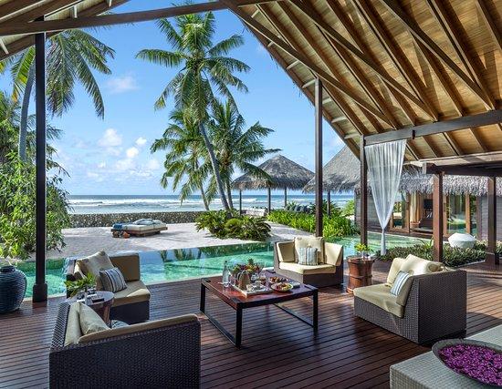 Shangri-La's Villingili Resort and Spa Maldives: Villa Laalu