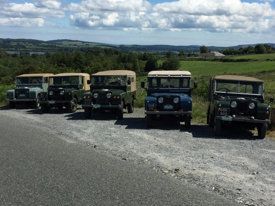 Donard, Ireland: Early Land Rovers in County Wicklow June 2017