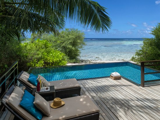 Shangri-La's Villingili Resort and Spa Maldives: Pool Villa