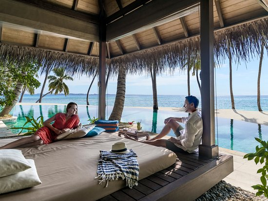 Shangri-La's Villingili Resort and Spa Maldives: Pool Cabana
