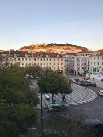 Hotel Metropole: View over Rossio