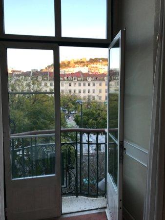 Hotel Metropole: Juliet balcony