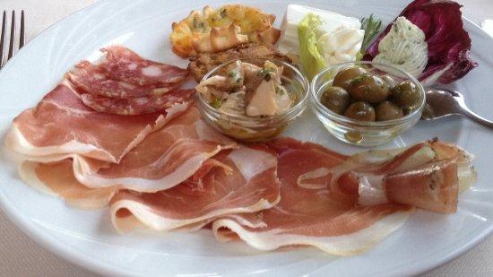 Urzulei, Italy: Antipasto tipico locale