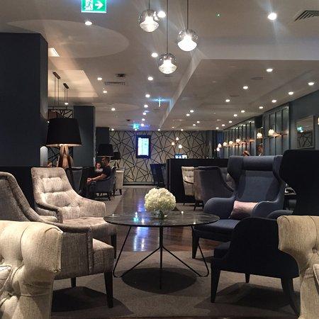 Horley, UK: Inside clubroom