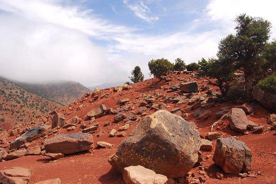 Ouirgane, Marruecos: Stunning scenery on the way to Azzaden Trekking Lodge