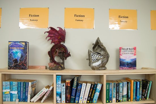 Featherston, New Zealand: We have separate Fantasy and Sci-Fi sections