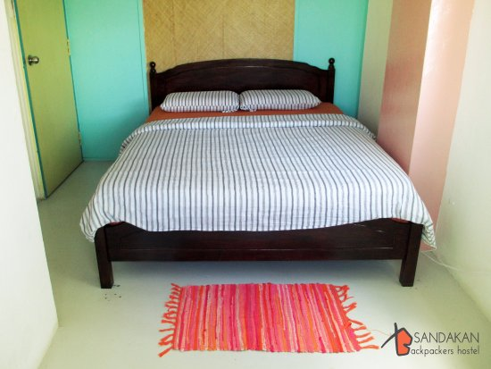 ‪‪Sandakan Backpackers Hostel‬: Sea View Double Room‬