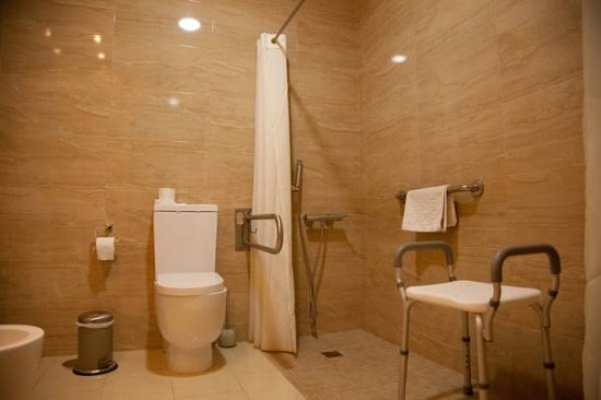 Villanueva del Trabuco, España: Baño adaptado