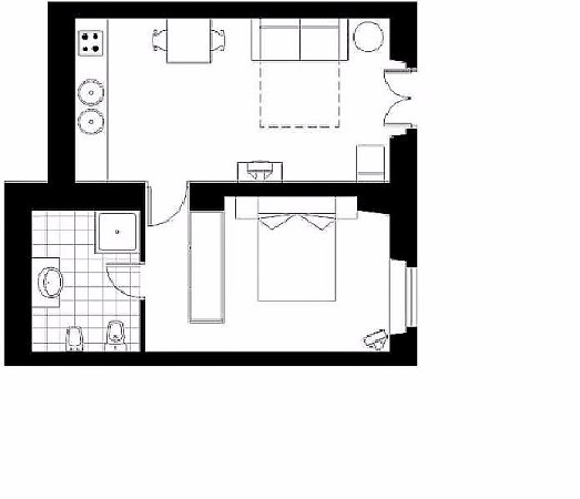 Rome Quiet Home: Plan