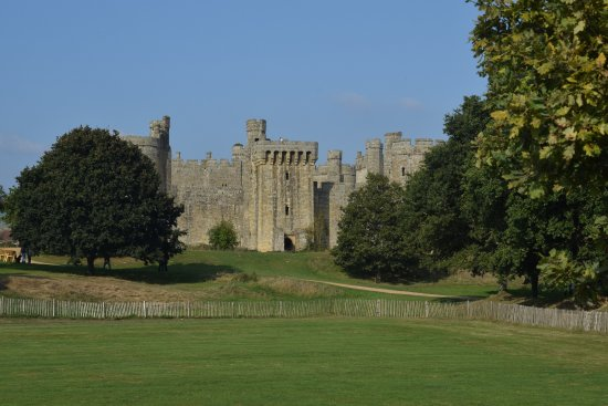 Bodiam, UK: This is as close as you can get without paying.