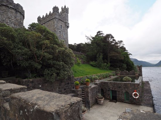 Letterkenny, Irland: Lough side of Castle, looking south