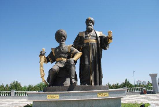 Unabhangigkeitsdenkmal: Estatuas del Parque de la Independencia