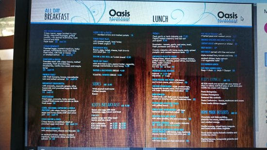 North Haven, Australien: Oasis By The River Cafe and Restaurant