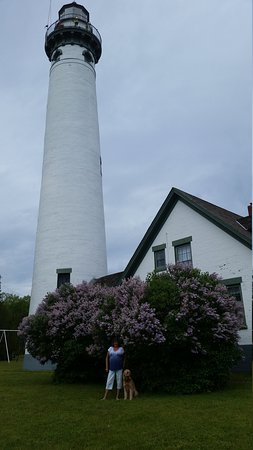 Presque Isle, MI: The new and old lighthouses