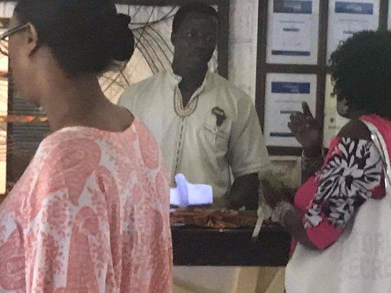 Baobab Beach Resort & Spa: rude arrogant and corrupt guy