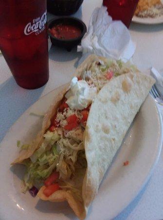 Canton, Gürcistan: Big Foot Taco Salad