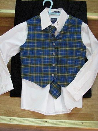 Antigonish (เมืองแอนติโกนิช), แคนาดา: Tartan clothes for babies, toddlers and adults